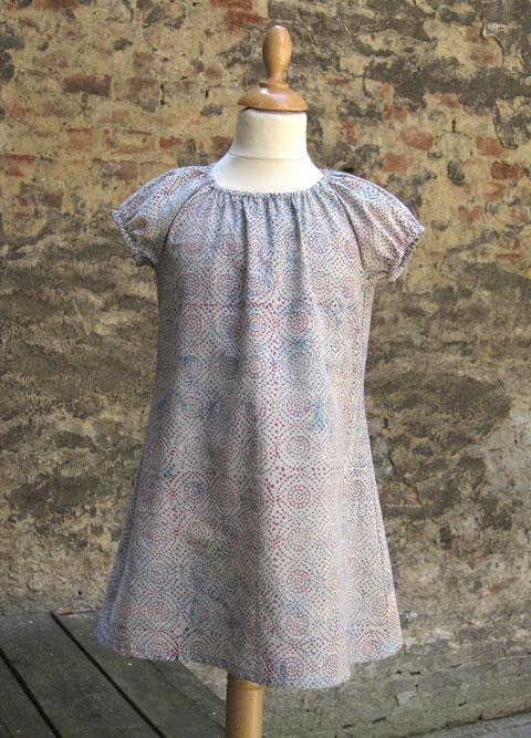 Schnittmuster Mädchenkleid Pauline | Schnittmenge